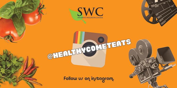 Follow us on Instagram @healthycometeats.
